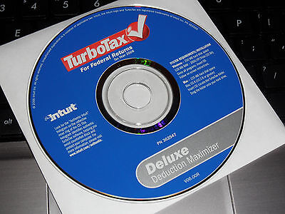2007 2008 Turbotax Fed  Deluxe W State Turbo Tax 2 Sealed Cds Free S H