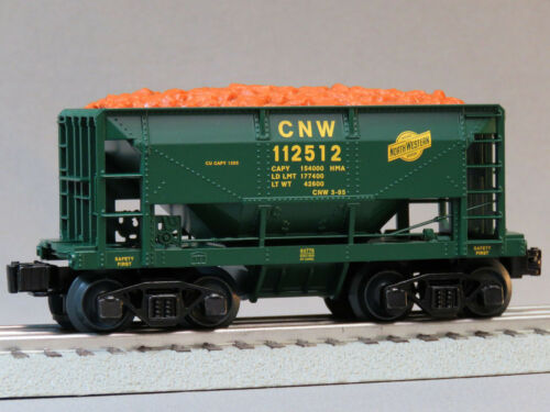 LIONEL CHICAGO NORTHWESTERN ORE CAR O GAUGE train From 6-84776-112512 NEW