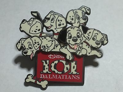 Disney HTF 101 Dalmatians Dogs Puppies Pups Bone Pin on Pin from 2004