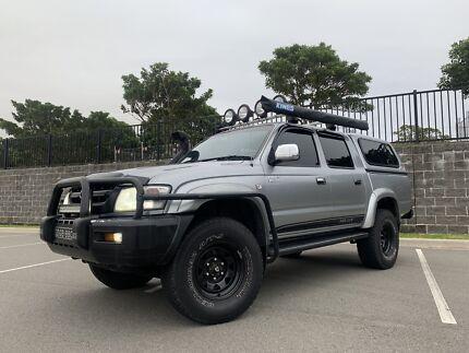 2003 Toyota Hilux Sr5 3.4 V6 Petrol 4x4 AUTO Botany Botany Bay Area Preview