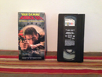 Knock Off (VHS, 1998 ) Tape & sleeve Van damme & rob schneider action