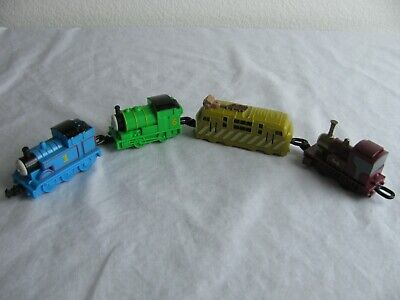 RARE SUBWAY THOMAS THE TRAIN COMPLETE SET OF 4 W/THOMAS, PERCY, DIESEL 10 & LADY