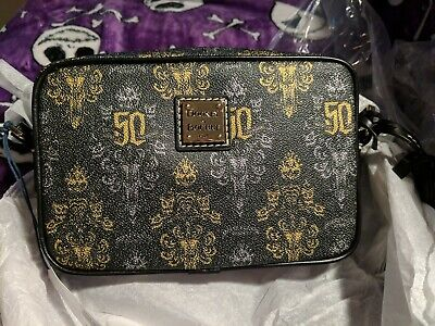 Disney Parks Haunted Mansion Crossbody 50th Anniversary Dooney & Bourke NWT