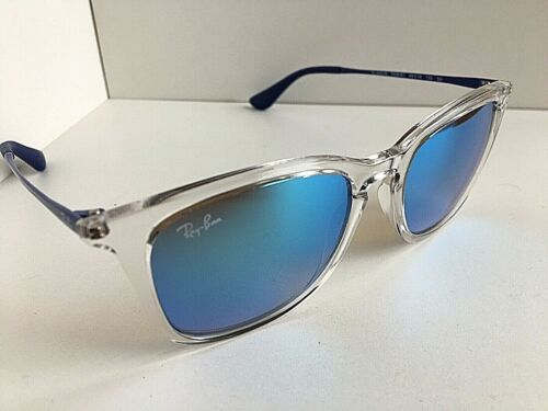 New Ray-Ban Kids RJ 50mm Clear Mirrored Sunglasses No case