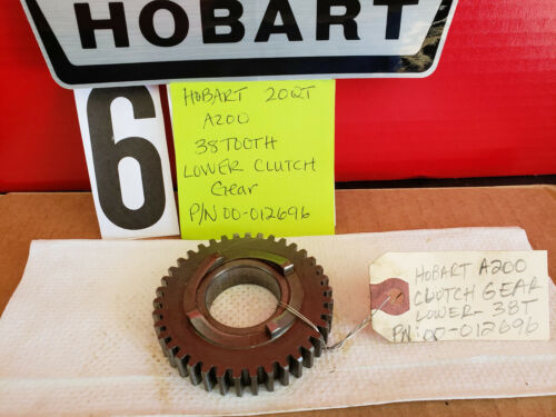 HOBART 20 Qt Mixer Parts A200 Lower Clutch Gear 38 Tooth