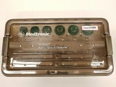 Medtronic Mosaic Aortic Valve Accessories 7639 With Sterilizer T7620 Inv 4499