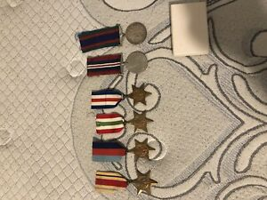 WW2 Canadian Campaign Medals