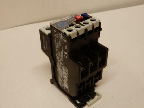 Telemechanique Thermal Overload Relay 7 - 10 Amp LR2 D13 Din Rail Mount LA7-D106