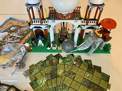 Vintage 2003 LEGO Adventures Orient Expedition Scorpion Palace 7418 Elephant EUC
