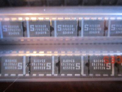 Ne555n Ne555 Genuine Signetics Standard Timer 8-pin Dip Ic Qty 5 Pieces New