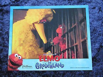 ELMO IN GROUCHLAND lobby card #6 ELMO, BIG BIRD