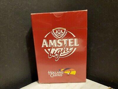 Vintage Playing Cards Amstel Light Beer Holland Casino Sealed Deck - Netherlands