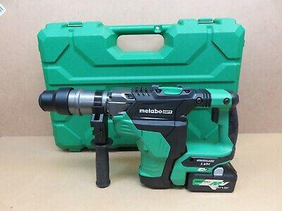 Metabo Dh 36dma 1-916 Cordless Rotary Hammer Drill 36v Hpt Brushless Display