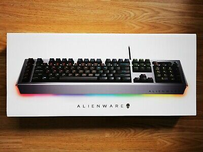 Dell Alienware Pro Gaming Keyboard AW768-SV-UK Layout