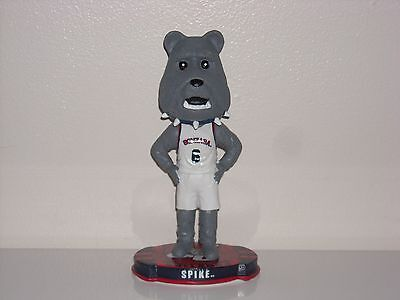 SPIKE THE BULLDOG Gonzaga University Mascot Bobble Head 2012 NCAA Limited Editon Gonzaga University Bulldogs