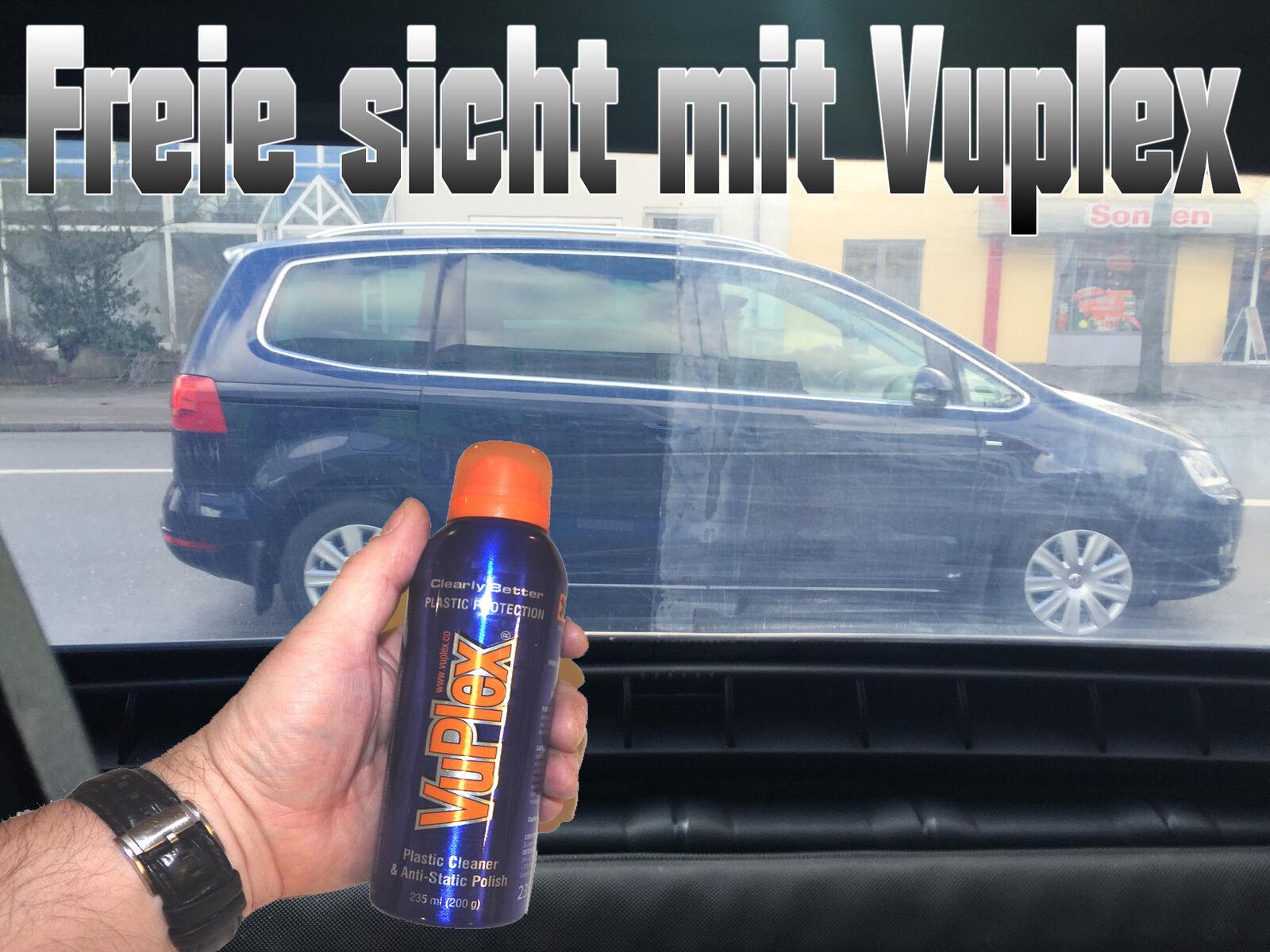 BMW Z3 Cabrio Heckscheibe Politur Vuplex 235ml. Reiniger PVC Wopavin Flexglas R