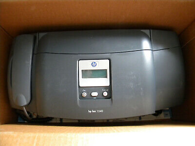 Hp Fax Color Copier Machine Model 1240 100 Sheet Capacity