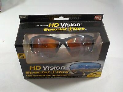 0dc1091410f54d New - Original HD Vision Special Ops Polarized Sunglasses HDVISSOD  754502038862