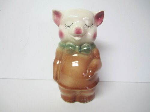 Vintage Standing Piggy Bank