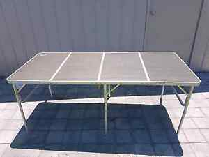 Large 6ft folding Spinifex camping table Lambton Newcastle Area Preview