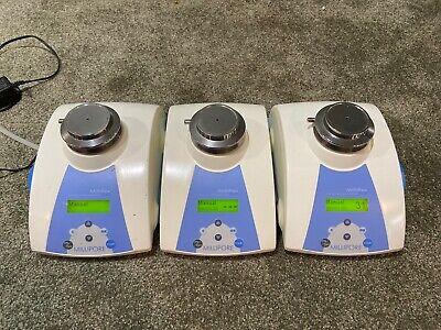 3 Piece Set Millipore Milliflex Plus Pump Mxppump01 Mxpump03 Nice Working