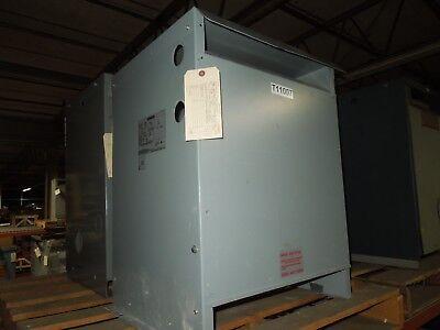 Siemens 125kva 525-460v 3ph 50hz Dry Type Transformer Nema 3r Cu Wound Used E-ok