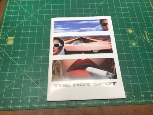 1990 The HOT SPOT MOVIE press kit 5 PHOTOS VIRGINIA MADSEN JENNIFER CONNELLY