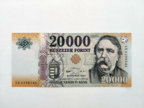Hungary 2015 20000 Forint banknote - UNC