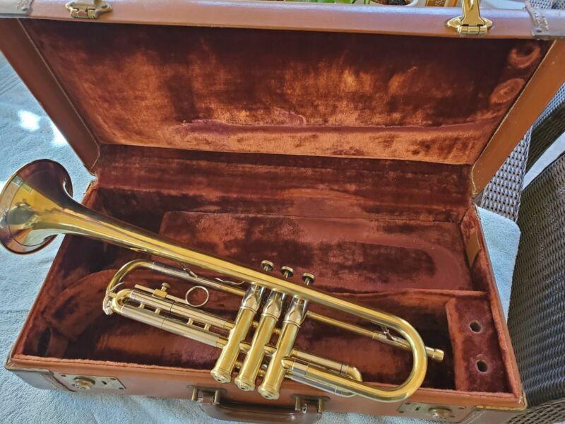 Vintage Super Olds Trumpet