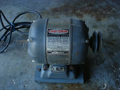Craftsman Ball Bearing Motor Md 115.7429 12 Hp 3450 Rpm Capacitor Tsp-242