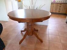 Timber extendable dining table Koreelah Tenterfield Area Preview
