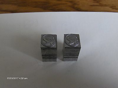 Antiquevintage Letterpress Metal Print Block 1 Rolls Royce New From 1990
