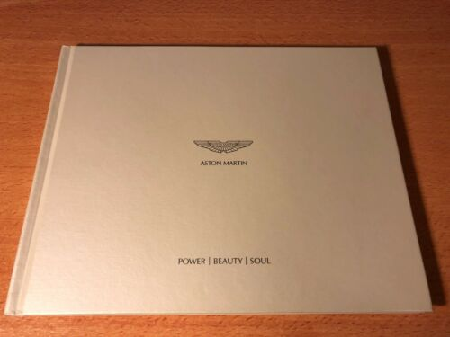 Aston Martin Power Beauty Soul Hardcover Book NEW 85 Pages Vantage DB9 Vanquish
