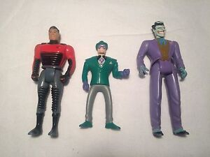 Vintage Batman the animated series action figures