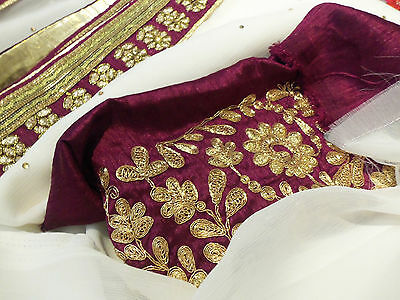 NEW INDIAN ETHNIC PAKISTANI BOLLYWOOD DESIGNER SAREE SARI WEDDING PARTY WEAR