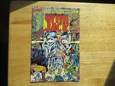 1986  GRIM JACK # 26 TMNT IN MUNDEN'S BAR SIGNED BY JOHN OSTRANDER WITH POA