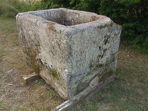 Grande auge timbre bac abreuvoir en pierre xixe deco for Bac pierre jardin