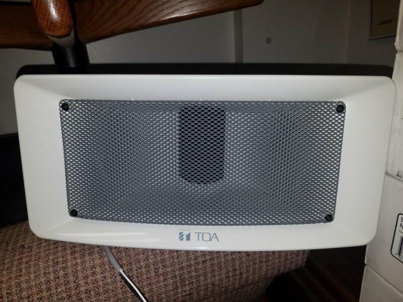 TOA CS-304U Wide Range Weatherproof Paging Speaker - New in Box