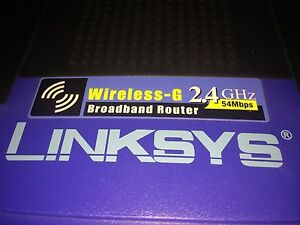 Linksys WRT54GL 2.4 GHz 54Mbps