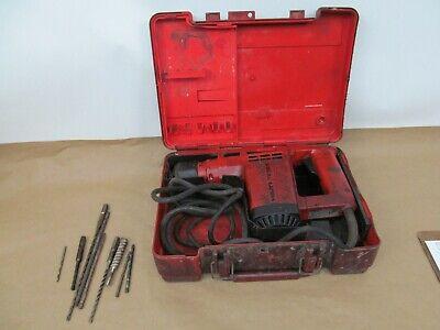 Hilti Te12s Corded Rotary Hammer Drill W Case
