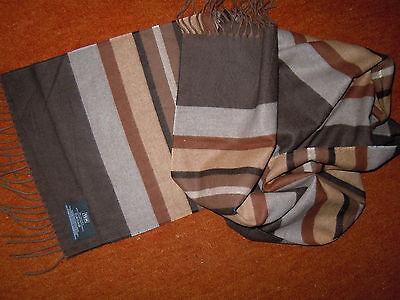 Schöner großer Schal für den modischen Herrn v.TCM herbstliche Farbtöne TOP