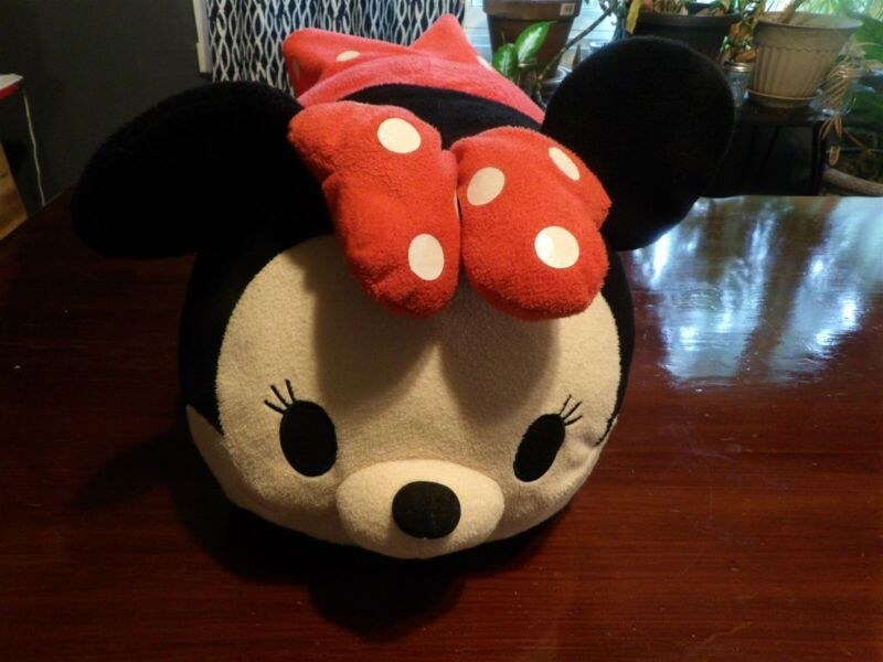 "Large 18"" Disney Tsum Tsum Minnie Mouse Pillow Plush (*43)"