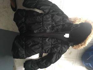 Manteau et bottes hiver