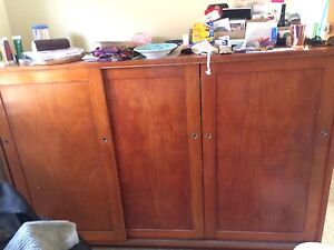 Vintage school sized cupboard Bar Beach Newcastle Area Preview