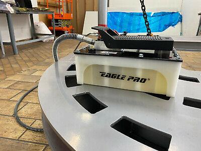Eagle Pro Air Hydraulic Foot Pump 10000 Psi Foot Pedal Frame Machine Press