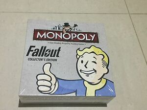 Monopoly: Fallout Collector's Edition Brisbane City Brisbane North West Preview