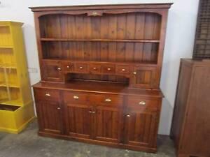 "D8049 Terrific Lge Kitchen Dresser Cabinet ""Classic Hollow Ridge"" Mount Barker Mount Barker Area Preview"