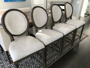 Restoration Hardware Counter height chairs