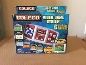 Coleco 6 in 1 video game system