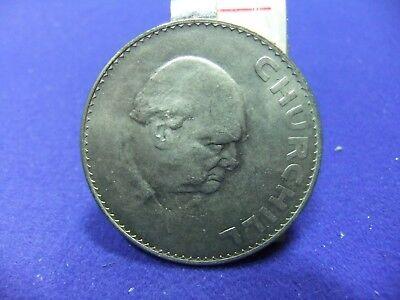 winston churchill crown 1965 commemorative war ww2 prime minister coinage